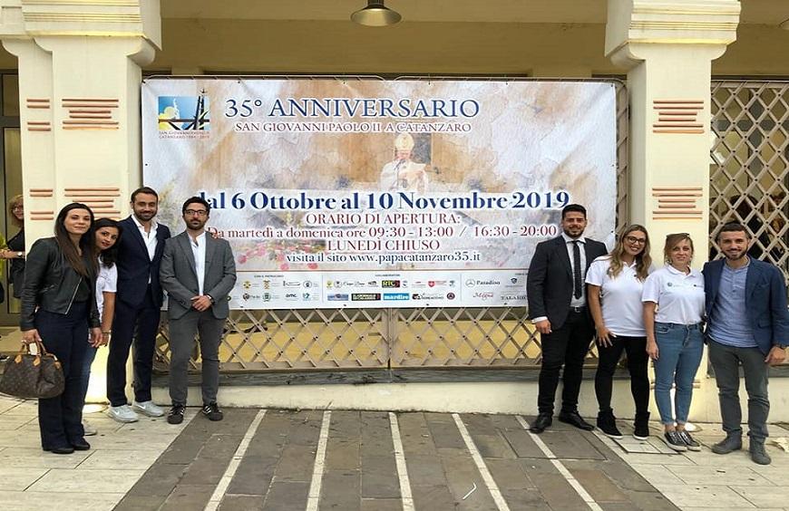 """Mostra """"35°Anniversario – Visita di San Giovanni Paolo II a Catanzaro"""" Ex Stac (Piazza Matteotti)"""